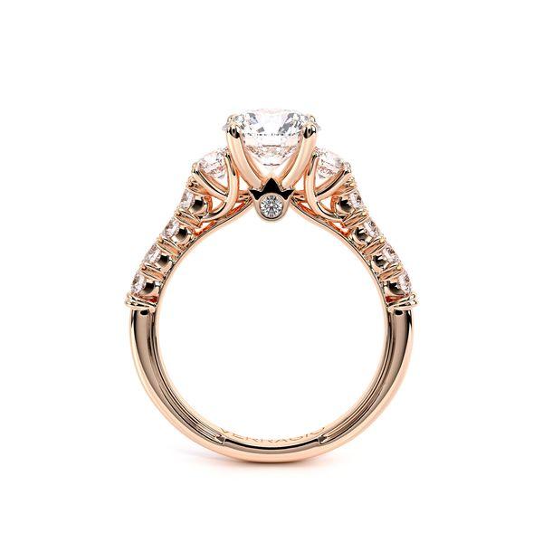 Renaissance Three Stone Engagement Ring Image 4 D. Geller & Son Jewelers Atlanta, GA