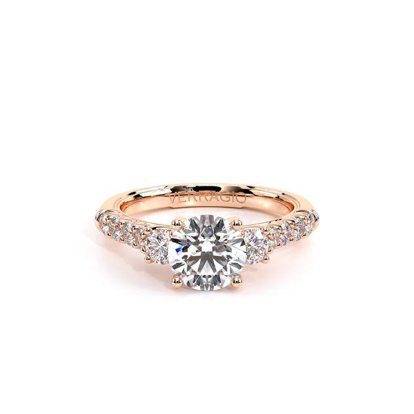 Renaissance Three Stone Engagement Ring Image 2 D. Geller & Son Jewelers Atlanta, GA