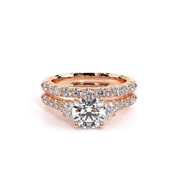 Renaissance Three Stone Engagement Ring Image 5 D. Geller & Son Jewelers Atlanta, GA
