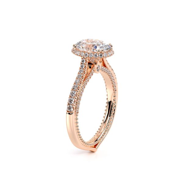 Couture Halo Engagement Ring Image 3 SVS Fine Jewelry Oceanside, NY