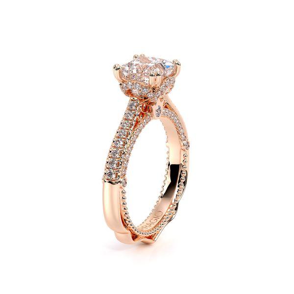 Venetian Pave Engagement Ring Image 3 D. Geller & Son Jewelers Atlanta, GA