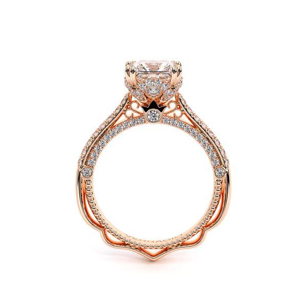 Venetian Pave Engagement Ring Image 4 D. Geller & Son Jewelers Atlanta, GA
