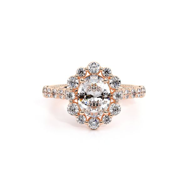 Couture Halo Engagement Ring Image 2 SVS Fine Jewelry Oceanside, NY