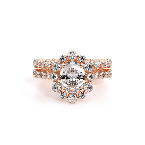Couture Halo Engagement Ring Image 5 SVS Fine Jewelry Oceanside, NY
