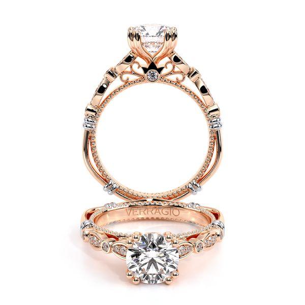 Parisian Vintage Engagement Ring D. Geller & Son Jewelers Atlanta, GA