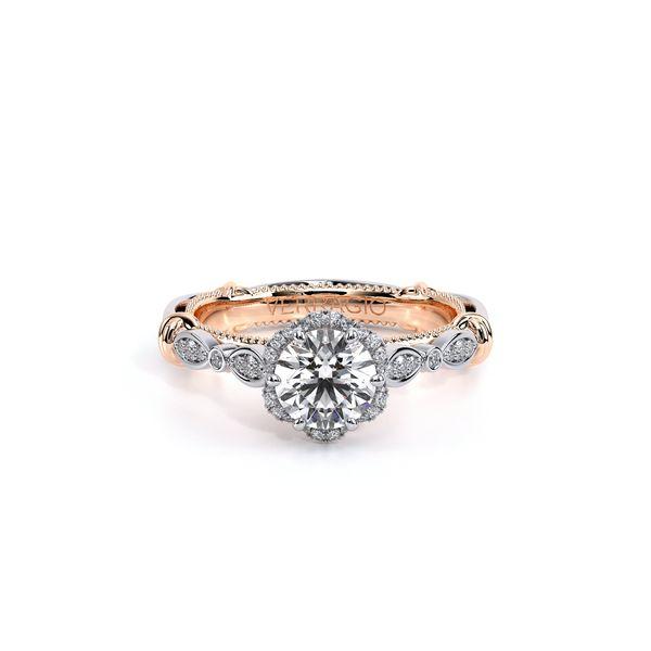 Parisian Halo Engagement Ring Image 2 D. Geller & Son Jewelers Atlanta, GA