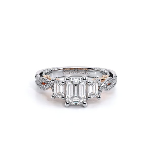 Insignia Three Stone Engagement Ring Image 2 D. Geller & Son Jewelers Atlanta, GA