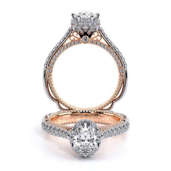 Venetian Pave Engagement Ring D. Geller & Son Jewelers Atlanta, GA