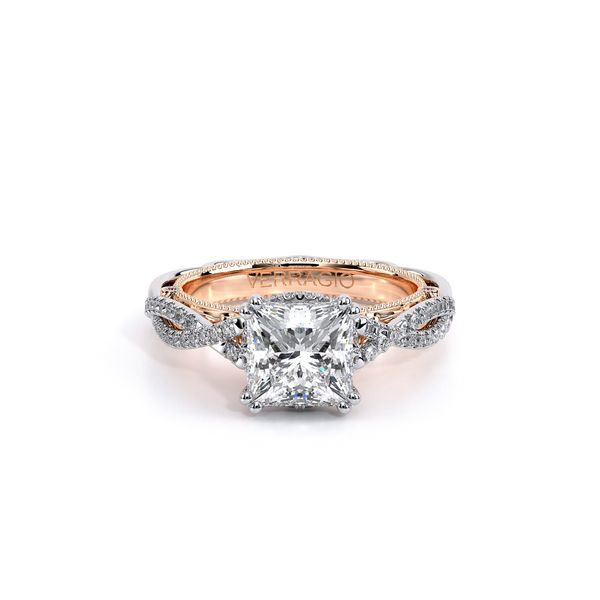 Venetian Vintage Engagement Ring Image 2 D. Geller & Son Jewelers Atlanta, GA