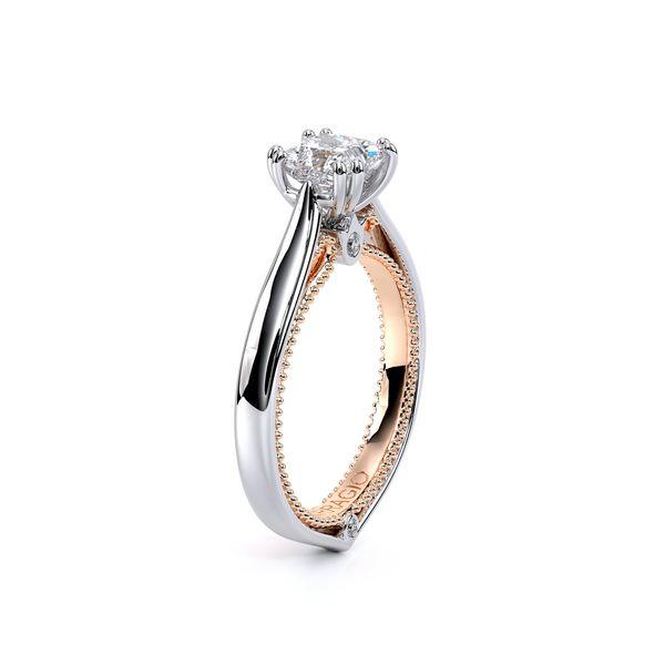 Couture Solitaire Engagement Ring Image 3 D. Geller & Son Jewelers Atlanta, GA