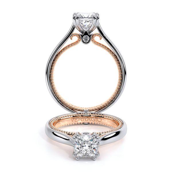 Couture Solitaire Engagement Ring D. Geller & Son Jewelers Atlanta, GA