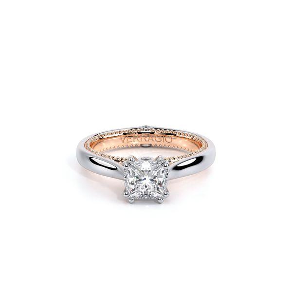 Couture Solitaire Engagement Ring Image 2 D. Geller & Son Jewelers Atlanta, GA