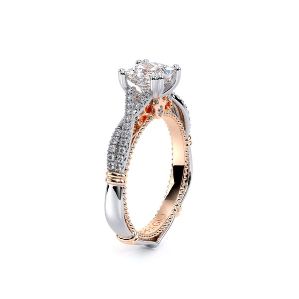 Parisian Pave Engagement Ring Image 3 D. Geller & Son Jewelers Atlanta, GA
