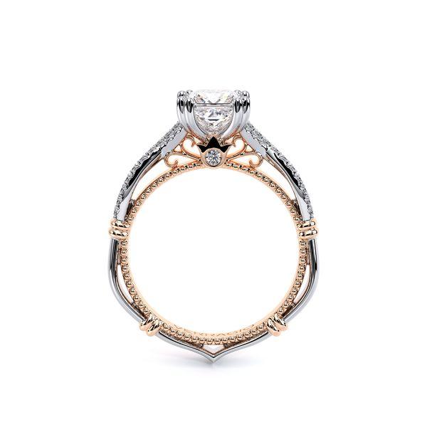 Parisian Pave Engagement Ring Image 4 D. Geller & Son Jewelers Atlanta, GA