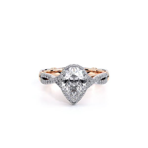 Parisian Halo Engagement Ring Image 5 SVS Fine Jewelry Oceanside, NY
