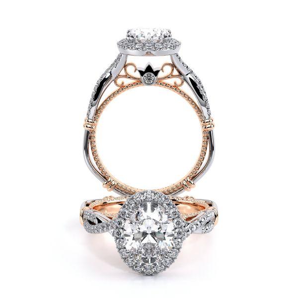 Parisian Halo Engagement Ring SVS Fine Jewelry Oceanside, NY