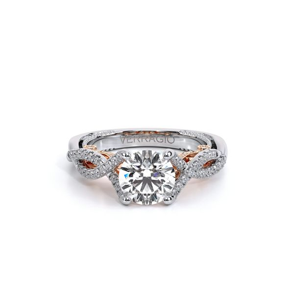 Insignia Pave Engagement Ring Image 2 SVS Fine Jewelry Oceanside, NY
