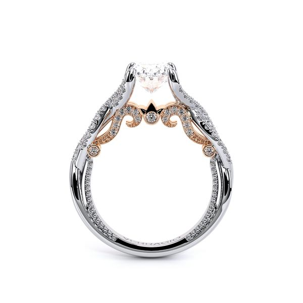 Insignia Pave Engagement Ring Image 4 SVS Fine Jewelry Oceanside, NY