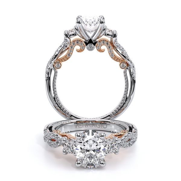 Insignia Three Stone Engagement Ring SVS Fine Jewelry Oceanside, NY
