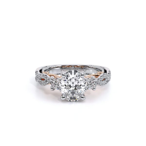 Insignia Three Stone Engagement Ring Image 2 SVS Fine Jewelry Oceanside, NY