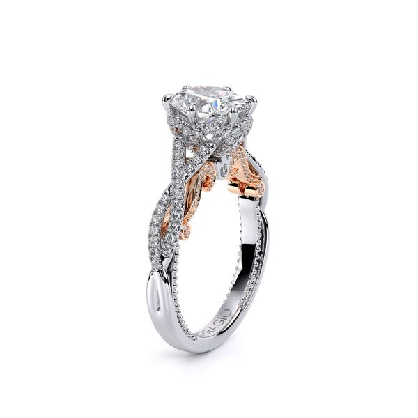 Insignia Pave Engagement Ring Image 3 SVS Fine Jewelry Oceanside, NY