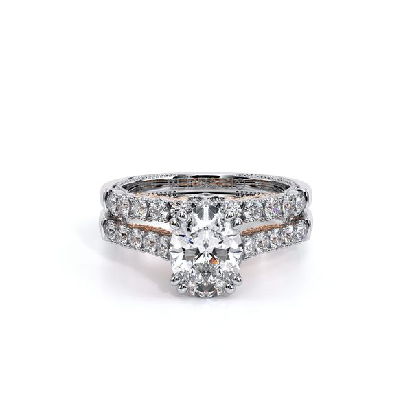 Insignia Pave Engagement Ring Image 5 SVS Fine Jewelry Oceanside, NY