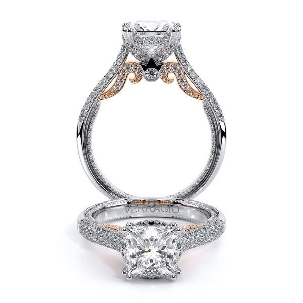 Insignia Halo Engagement Ring D. Geller & Son Jewelers Atlanta, GA