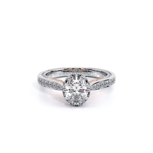 Insignia Halo Engagement Ring Image 2 D. Geller & Son Jewelers Atlanta, GA