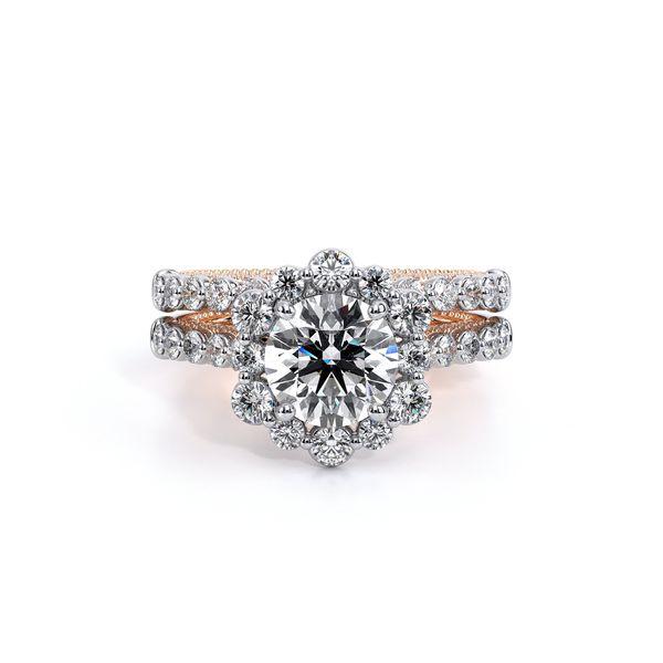 Couture Halo Engagement Ring Image 5 D. Geller & Son Jewelers Atlanta, GA