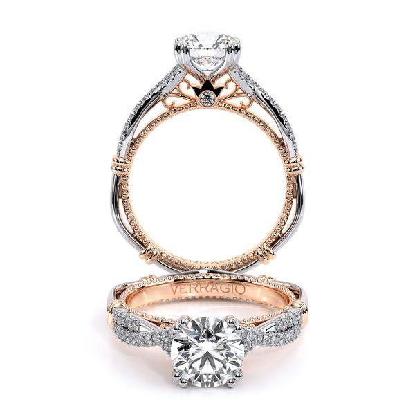 Parisian Pave Engagement Ring D. Geller & Son Jewelers Atlanta, GA