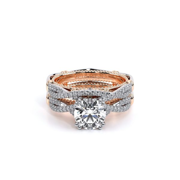 Parisian Pave Engagement Ring Image 5 D. Geller & Son Jewelers Atlanta, GA