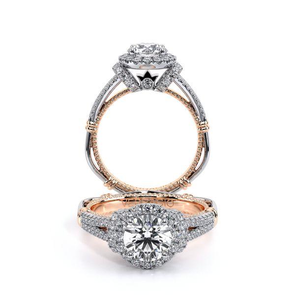 Parisian Halo Engagement Ring D. Geller & Son Jewelers Atlanta, GA