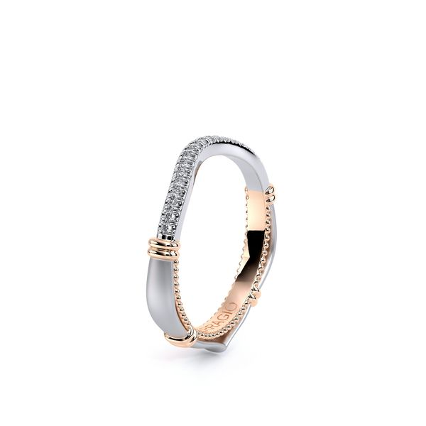 Eterna Curved Wedding Ring Image 3 D. Geller & Son Jewelers Atlanta, GA