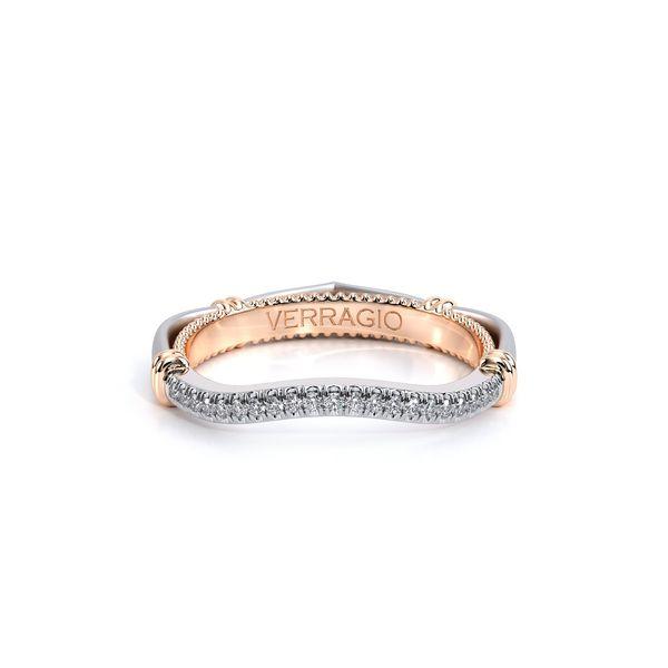 Eterna Curved Wedding Ring Image 2 D. Geller & Son Jewelers Atlanta, GA