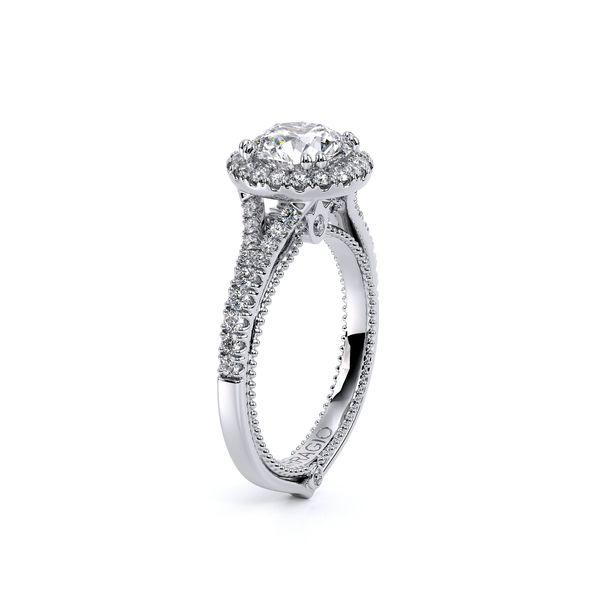 Couture Halo Engagement Ring Image 3 D. Geller & Son Jewelers Atlanta, GA