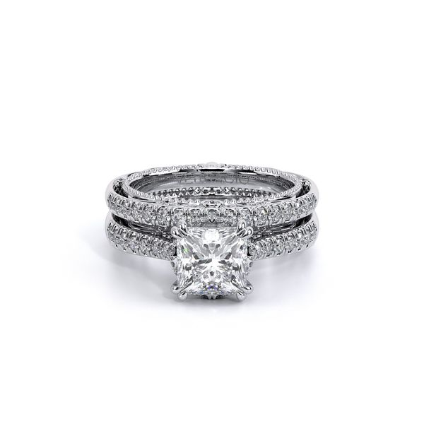 Venetian Pave Engagement Ring Image 5 D. Geller & Son Jewelers Atlanta, GA