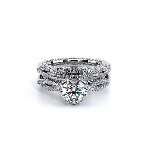 Couture Pave Engagement Ring Image 5 D. Geller & Son Jewelers Atlanta, GA