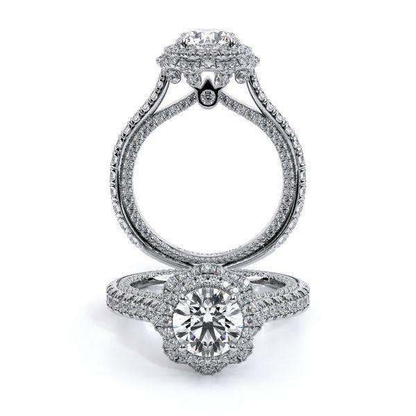Couture Halo Engagement Ring D. Geller & Son Jewelers Atlanta, GA