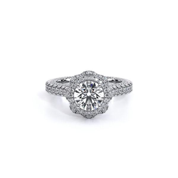 Couture Halo Engagement Ring Image 2 D. Geller & Son Jewelers Atlanta, GA