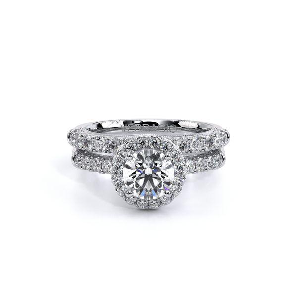 Renaissance Halo Engagement Ring Image 5 D. Geller & Son Jewelers Atlanta, GA