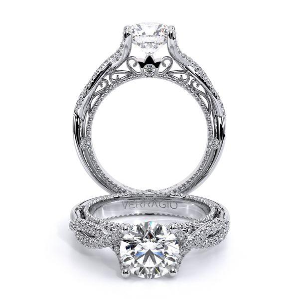 Venetian Vintage Engagement Ring D. Geller & Son Jewelers Atlanta, GA