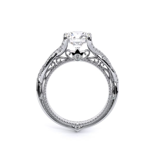 Venetian Vintage Engagement Ring Image 3 D. Geller & Son Jewelers Atlanta, GA