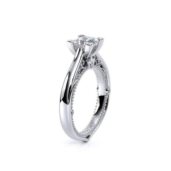 Venetian Solitaire Engagement Ring Image 3 D. Geller & Son Jewelers Atlanta, GA