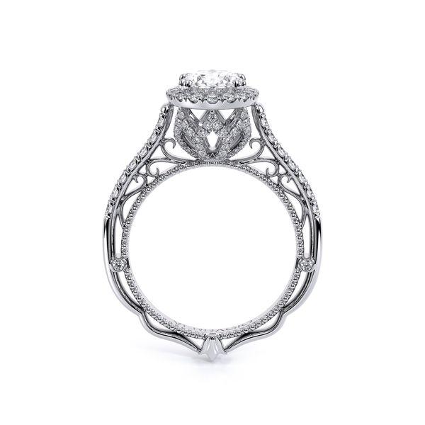 Venetian Halo Engagement Ring Image 4 D. Geller & Son Jewelers Atlanta, GA