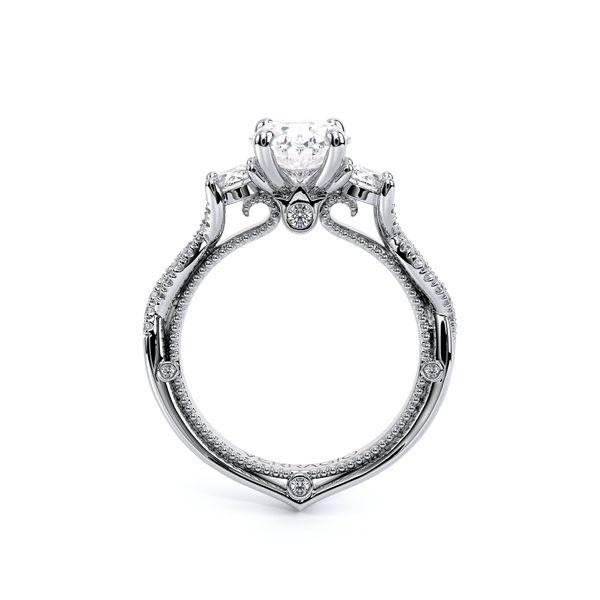 Couture Halo Engagement Ring Image 4 D. Geller & Son Jewelers Atlanta, GA