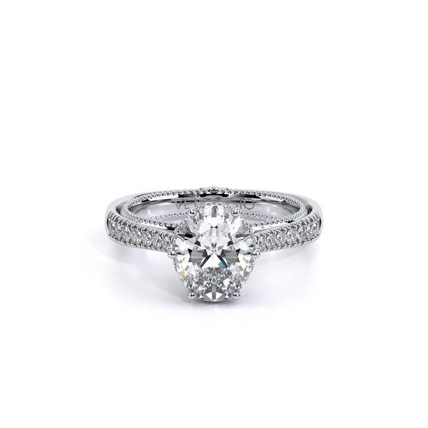 Couture Pave Engagement Ring Image 2 D. Geller & Son Jewelers Atlanta, GA