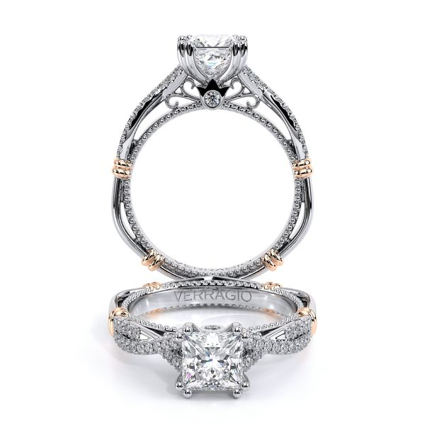 Parisian Pave Engagement Ring SVS Fine Jewelry Oceanside, NY