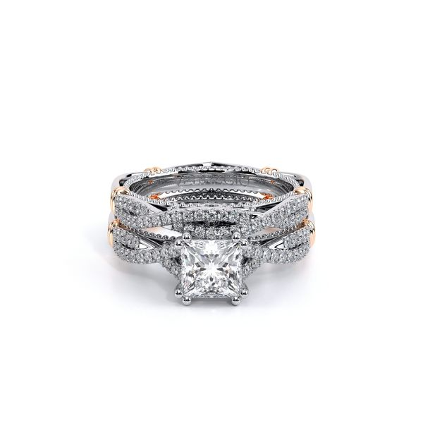 Parisian Pave Engagement Ring Image 5 SVS Fine Jewelry Oceanside, NY