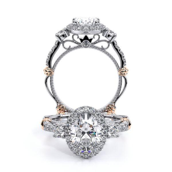 Parisian Three Stone Engagement Ring D. Geller & Son Jewelers Atlanta, GA