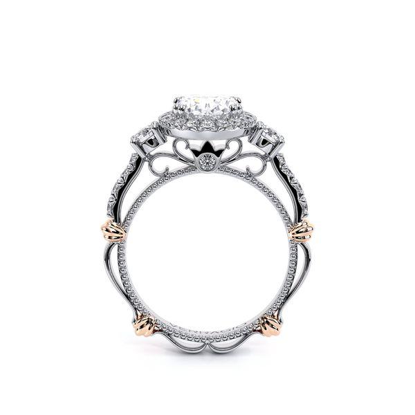 Parisian Three Stone Engagement Ring Image 4 D. Geller & Son Jewelers Atlanta, GA